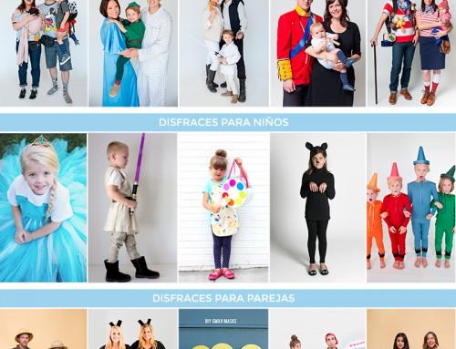 15 DISFRACES ORIGINALES PARA FAMILIAS, NIÑOS Y PAREJAS