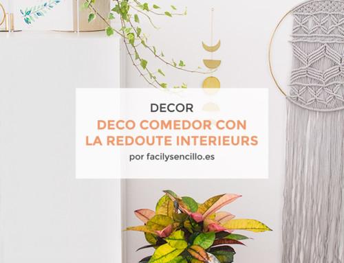 NUEVA DECORACIÓN DE COMEDOR CON LA REDOUTE INTERIEURS *