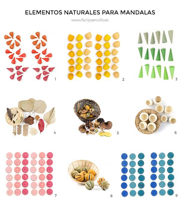 Mandalas Con Niños Y Elementos Naturales Fácil Y Sencillo